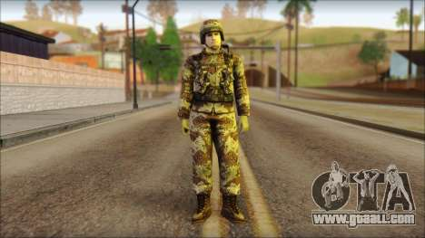 Navy Seal Soldier for GTA San Andreas