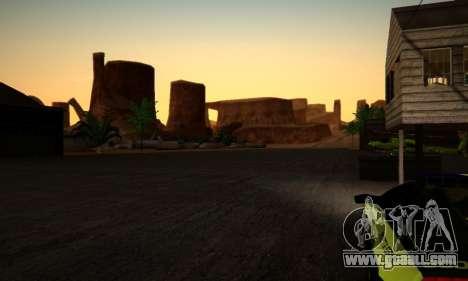 ENB Series by phpa v5 for GTA San Andreas tenth screenshot