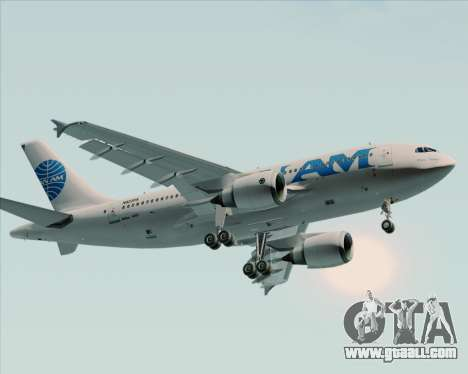 Airbus A310-324 Pan American World Airways for GTA San Andreas back left view