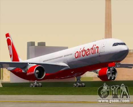 Airbus A330-300 Air Berlin for GTA San Andreas