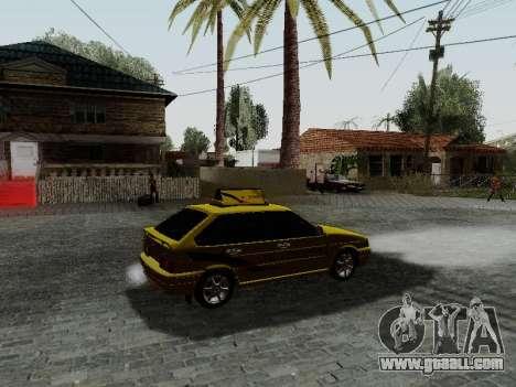 VAZ 2114 TMK afterburner for GTA San Andreas right view