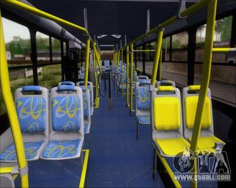 Comil Svelto BRT Scania K310IB 6x2 Sorocaba for GTA San Andreas side view