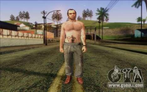 Trevor Phillips Skin v5 for GTA San Andreas