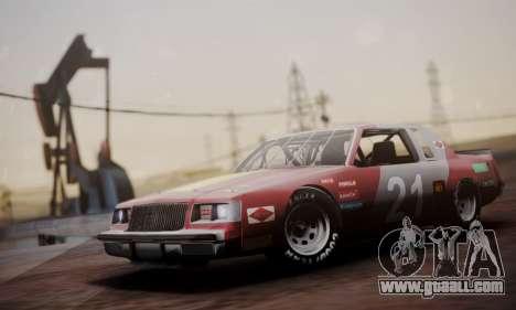Buick Regal 1983 for GTA San Andreas