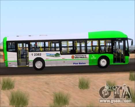 Caio Induscar Millennium BRT Viacao Gato Preto for GTA San Andreas inner view