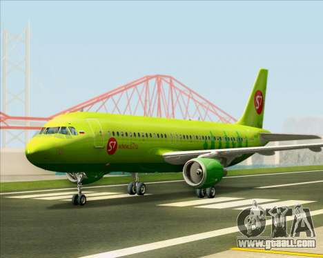 Airbus A320-214 S7-Siberia Airlines for GTA San Andreas