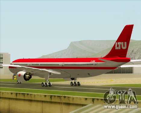 Airbus A330-300 LTU International for GTA San Andreas right view