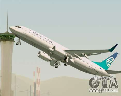 Boeing 737-800 Air New Zealand for GTA San Andreas engine