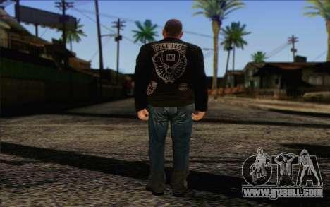Johnny Klebitz From GTA 5 for GTA San Andreas second screenshot