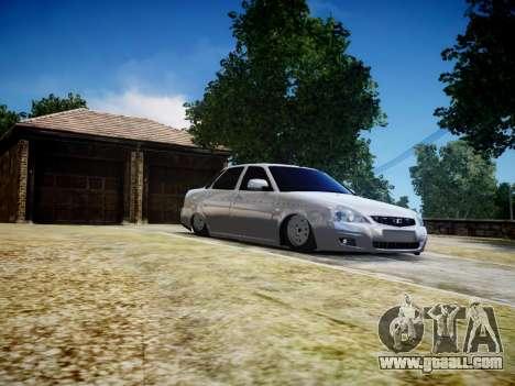 VAZ 2170 for GTA 4 inner view