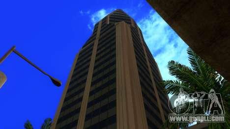 HD texture four skyscrapers in Los Santos for GTA San Andreas ninth screenshot