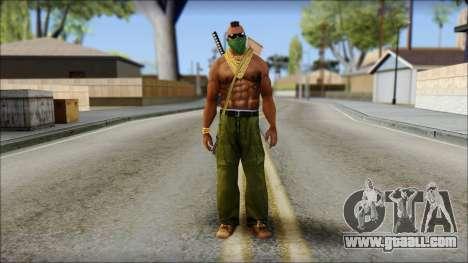 MR T Skin v11 for GTA San Andreas