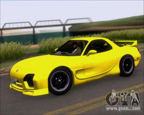 Mazda RX-7 FD3S A-Spec for GTA San Andreas side view
