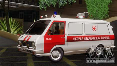 RAF 22031 Latvia - Ambulance for GTA San Andreas