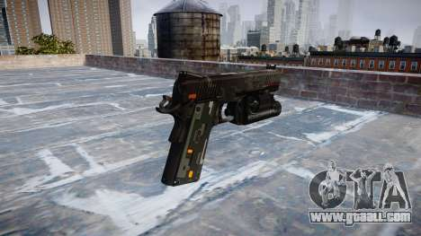 Gun Kimber 1911 CE Digital for GTA 4 second screenshot