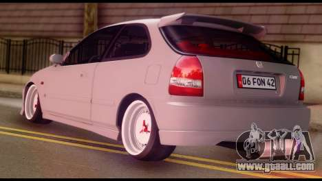 Honda Civic 1.4 Hatchback for GTA San Andreas left view