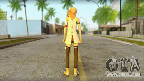 Sarah from Final Fantasy XIII for GTA San Andreas second screenshot