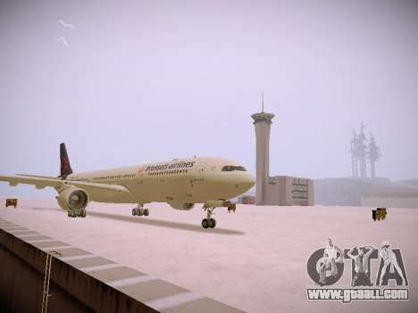 Airbus A330-300 Brussels Airlines for GTA San Andreas