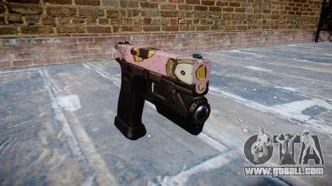 Pistol Glock 20 kawaii for GTA 4