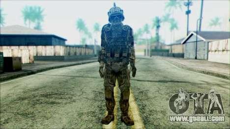Soldiers of team Phantom 3 for GTA San Andreas