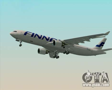 Airbus A330-300 Finnair (Current Livery) for GTA San Andreas engine