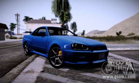 Graphic mod for Medium PC for GTA San Andreas