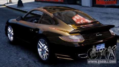 Porsche 911 Turbo for GTA 4 back left view