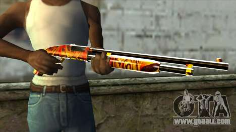 Dash Shotgun for GTA San Andreas third screenshot