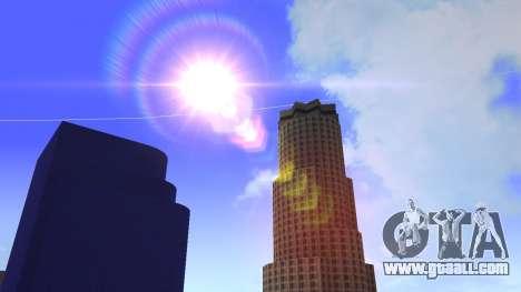 HD texture four skyscrapers in Los Santos for GTA San Andreas eighth screenshot
