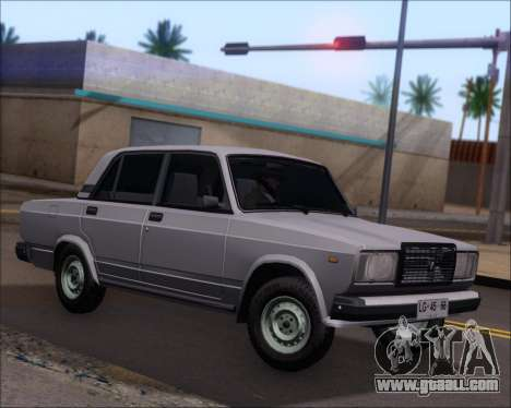 LADA 2107 for GTA San Andreas left view