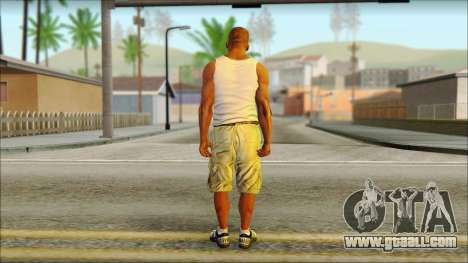 Franklin for GTA San Andreas second screenshot