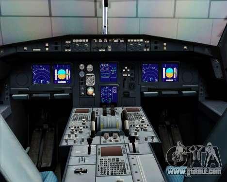 Airbus A340-312 Air Mauritius for GTA San Andreas interior