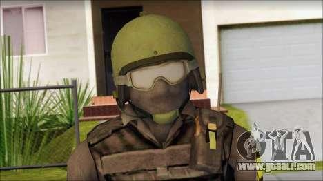 Australian Soldier for GTA San Andreas third screenshot