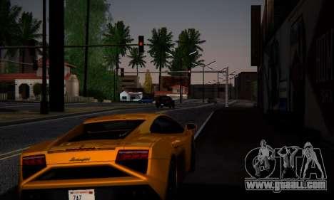 ENB Series by phpa v5 for GTA San Andreas third screenshot