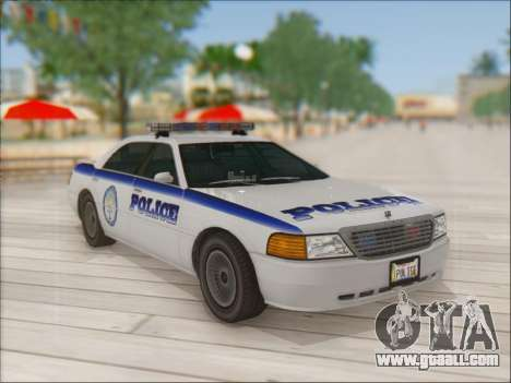 Admiral Police for GTA San Andreas inner view