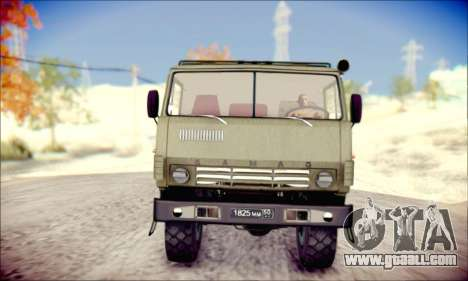 The KamAZ-6350 (APT) for GTA San Andreas left view
