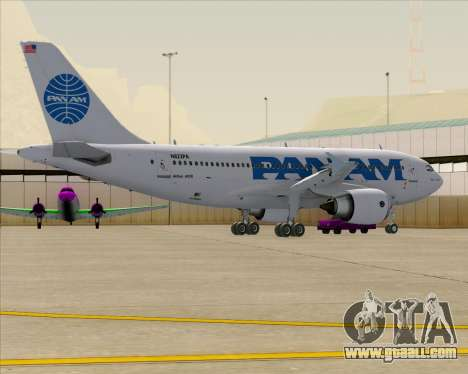 Airbus A310-324 Pan American World Airways for GTA San Andreas wheels