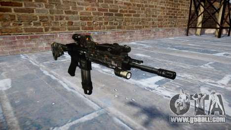 Automatic rifle Colt M4A1 ce digital for GTA 4