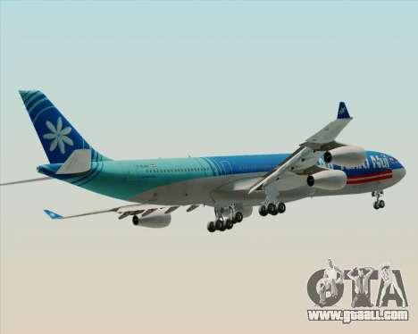 Airbus A340-313 Air Tahiti Nui for GTA San Andreas