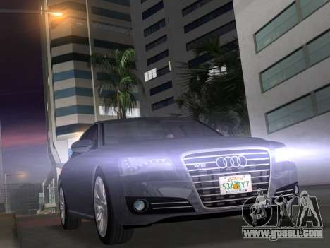 Audi A8 2010 W12 Rim1 for GTA Vice City
