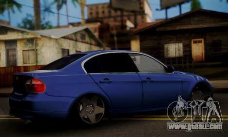 BMW M3 E90 Stance Works for GTA San Andreas left view