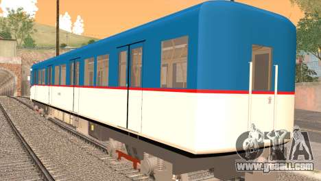 LRT-1 for GTA San Andreas left view