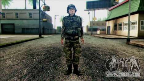 Soldiers of the National guard of the U.S. (WIC) for GTA San Andreas