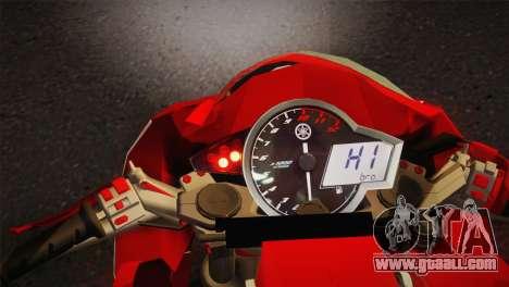 Yamaha New V-Ixion Lightning Concept Variasi for GTA San Andreas back left view
