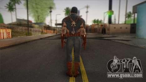 Captain America v1 for GTA San Andreas second screenshot