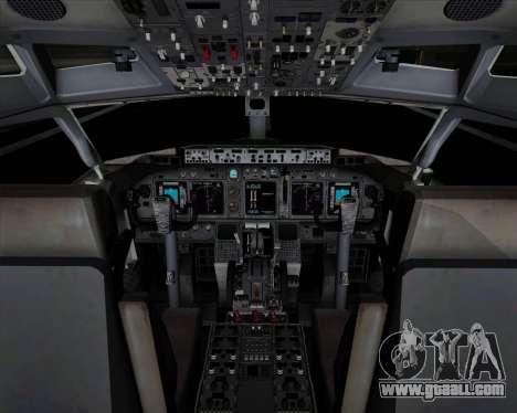 Boeing 737-89L Air China for GTA San Andreas interior