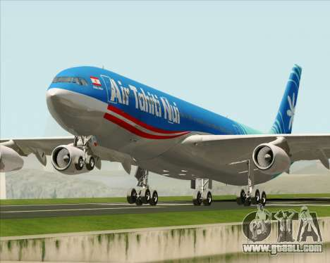 Airbus A340-313 Air Tahiti Nui for GTA San Andreas