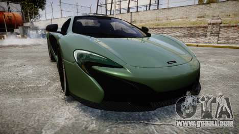 McLaren 650S Spider 2014 [EPM] Continental for GTA 4