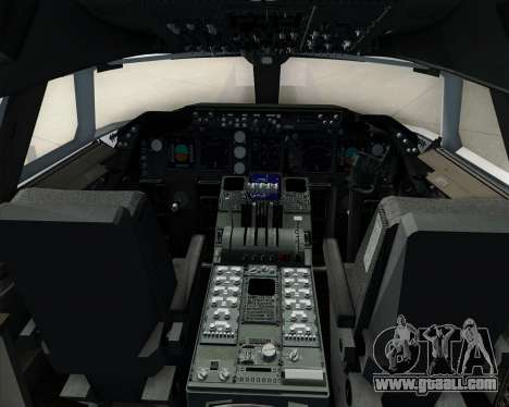 Boeing 747-8 Cargo Cathay Pacific Cargo for GTA San Andreas interior