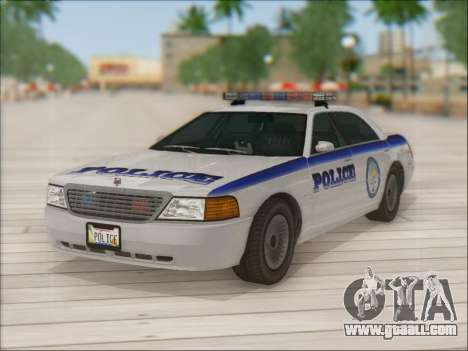 Admiral Police for GTA San Andreas engine